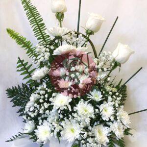 enviar arreglo floral a domicilio; Canasta de condolencias